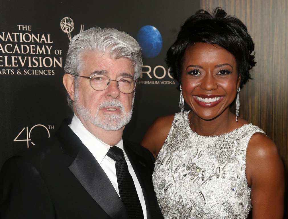 """. <p><b> Hollywood icon George Lucas made headlines when he did this last week at the age of 69 � </b> <p> A. Became a father again  <p> B. Remarried  <p> C. Green-lighted another six �Star Wars� sequels  <p><b><a href=\'http://www.dailymail.co.uk/tvshowbiz/article-2390371/George-Lucas-69-wife-Mellody-Hobson-44-welcome-baby-girl-surrogate.html\' target=\""""_blank\"""">HUH?</a></b> <p>    (AP Photo/Entertainment Fusion Group, Ryan Miller)"""