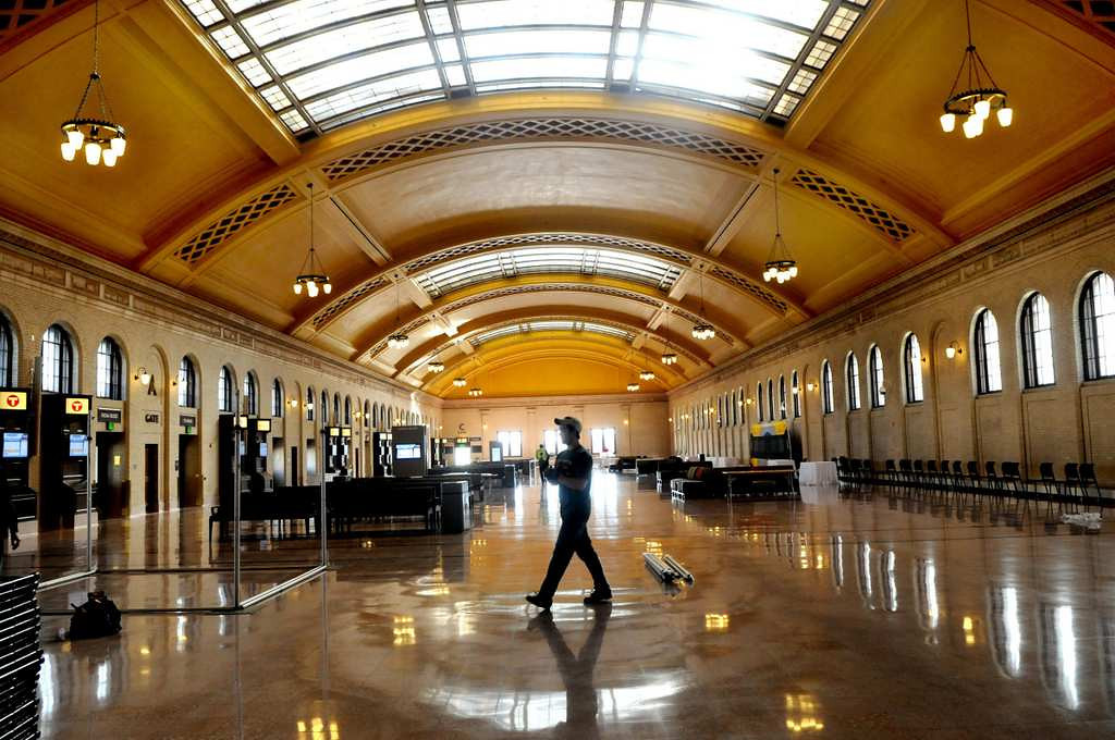 . St. Paul\'s Union Depot reopened in December 2012 after extensive renovations. (Pioneer Press: Jean Pieri)