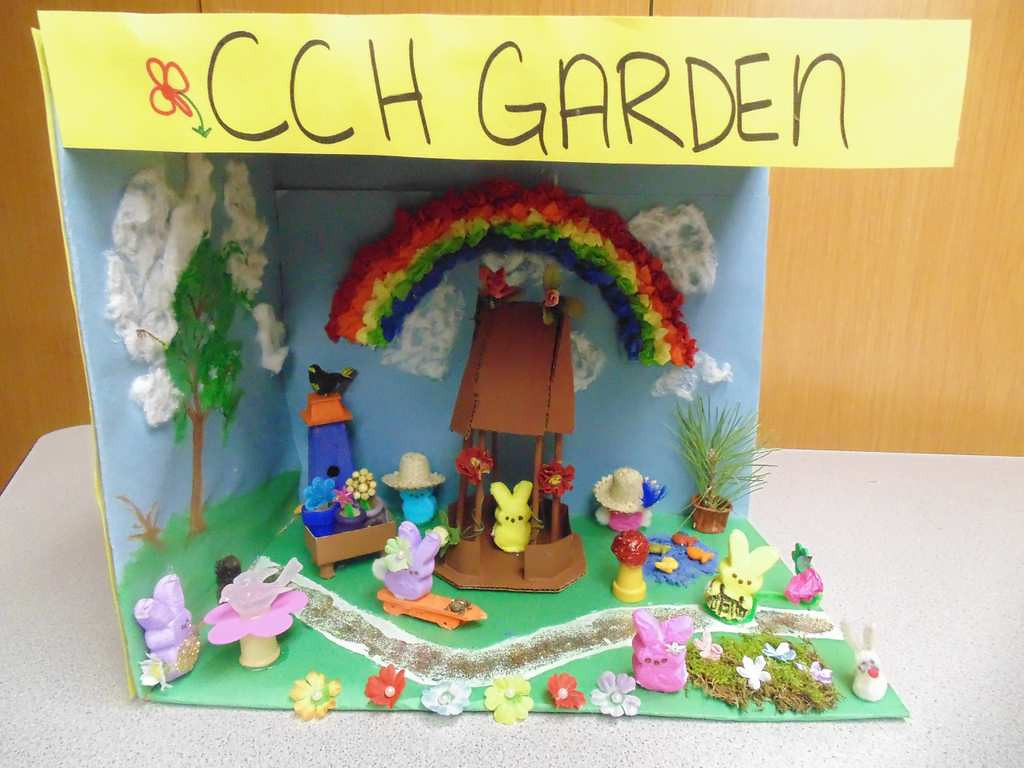 ". ""CCH Gardens,\"" by residents of Christian Community Homes in Hudson, Wis., who ranged in age from 85 to 91"