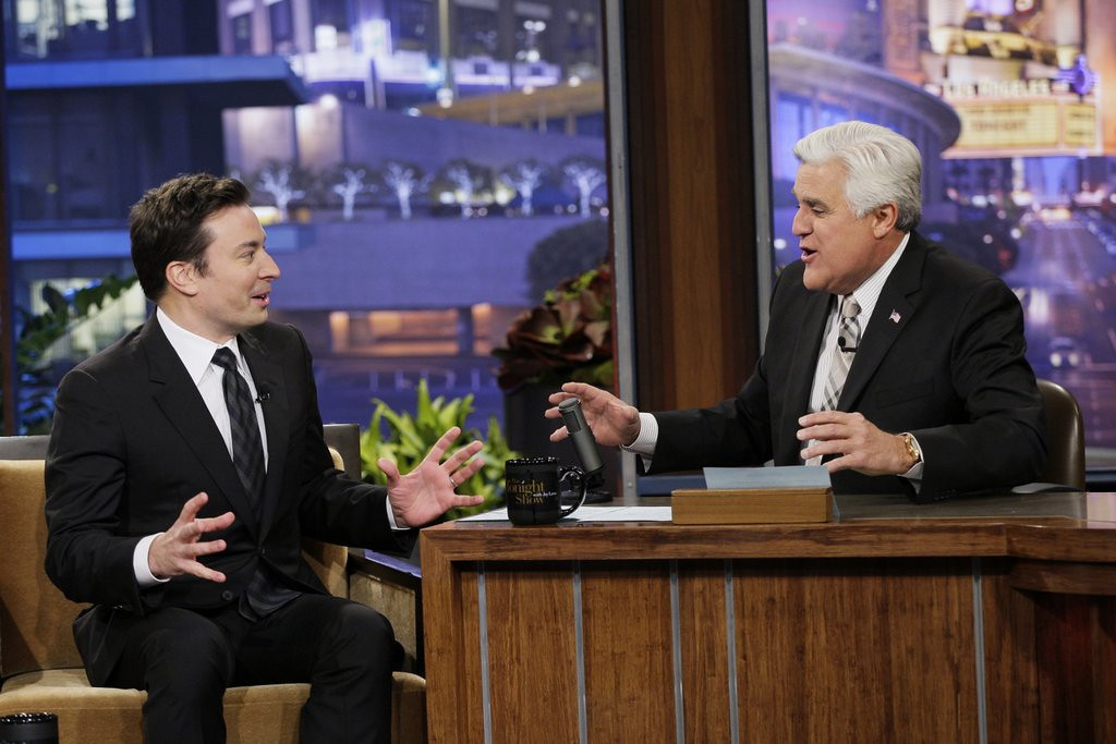 ". <p>3. JAY LENO <p>Leaves �The Tonight Show� far behind David Letterman, when it comes to bedding interns. (unranked) <p><b><a href=\'http://www.twincities.com/entertainment/ci_25054339/lenos-legacy-second-tonight-show-exit-is-enough\' target=""_blank\""> HUH?</a></b> <p>    (AP Photo/NBC, Chris Haston)"