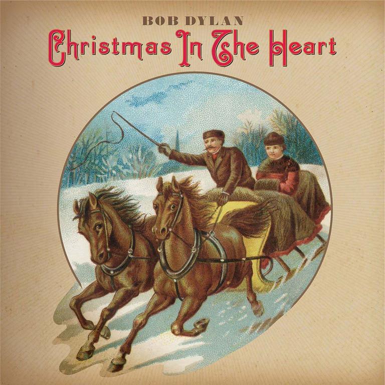 ". 2009: Bob Dylan\'s \""Christmas In The Heart\"" album  (PRNewsFoto/Columbia Records)"