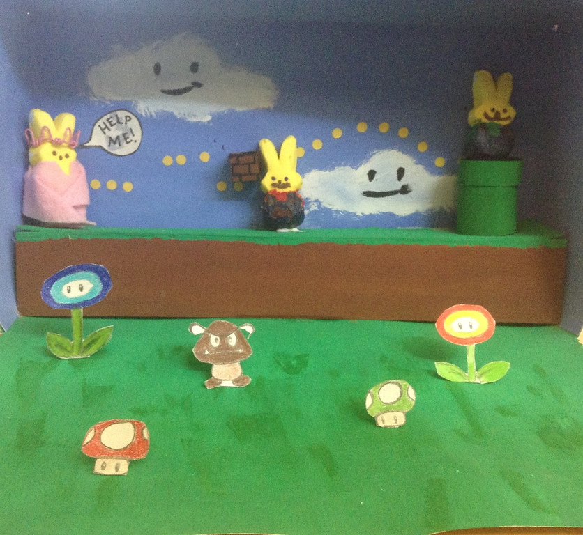 ". ""The Peep Brothers: Staring Princess Peep,\"" by Amanda Fiedorow, Maplewood"