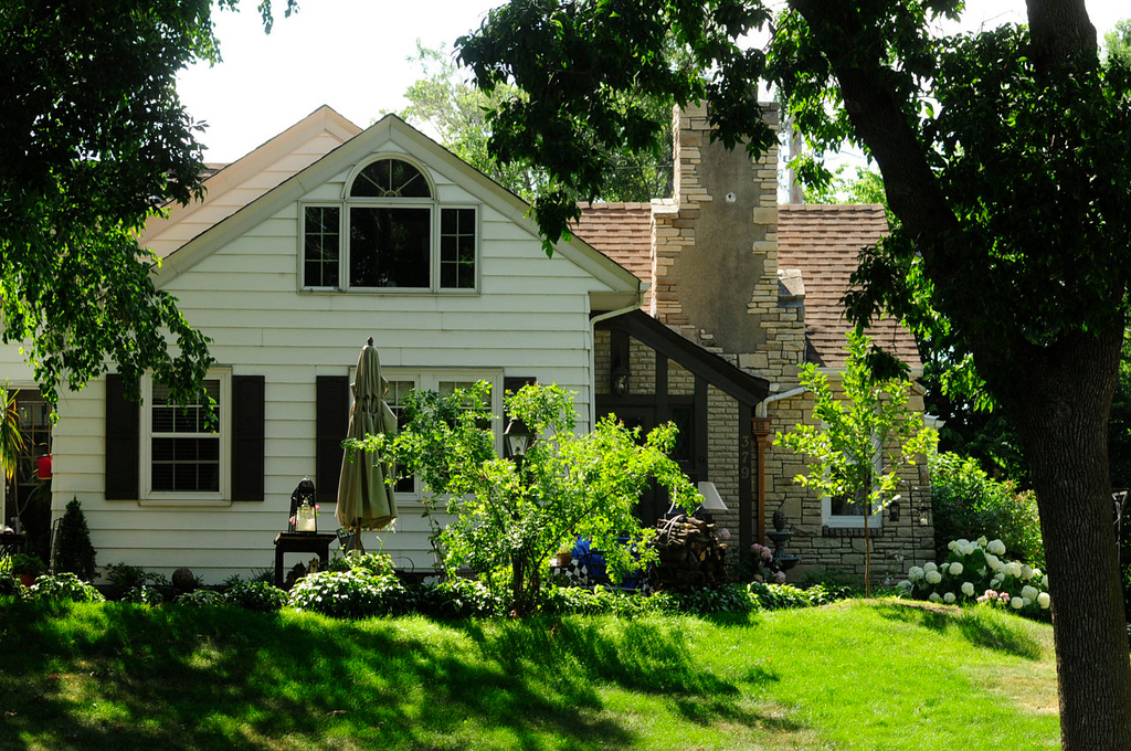 . This house, owned by Harold Stassen when he was Governor of Minnesota.