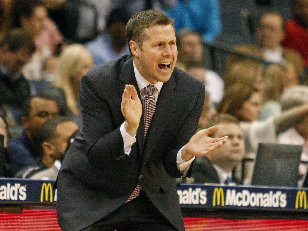 ". 5. DAVE JOERGER <p>If he�s not going to be coaching Kevin Love, he�d rather do so in Memphis. (unranked) <p><b><a href=\'http://www.twincities.com/sports/ci_25834486/report-timberwolves-coaching-candidate-dave-joerger-remain-memphis\' target=""_blank\""> LINK </a></b> <p>    (AP Photo/Lance Murphey, File)"
