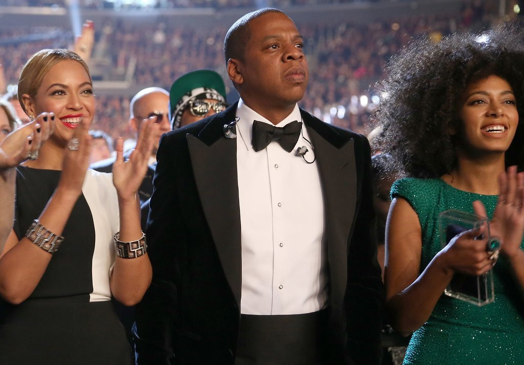". <p><b> Security camera footage from a New York hotel has revealed that hip hop star Jay-Z now has � </b> <p> A. A beef with his sister-in-law <p> B. Ineffective security guards <p> C. 100 problems <p><b><a href=\'http://www.twincities.com/celebrities/ci_25769788/beyonce-jay-z-solange-moving-past-attack-video\' target=""_blank\""> LINK </a></b> <p>    <br> <p><b>ANSWERS</b> <p> The correct answer is always \""A\"" ... unless you feel very strongly otherwise. <p> <br><p><i> You can follow Kevin Cusick at <a href=\'http://twitter.com/theloopnow\'>twitter.com/theloopnow</a>.</i>    (Christopher Polk/Getty Images for NARAS)"