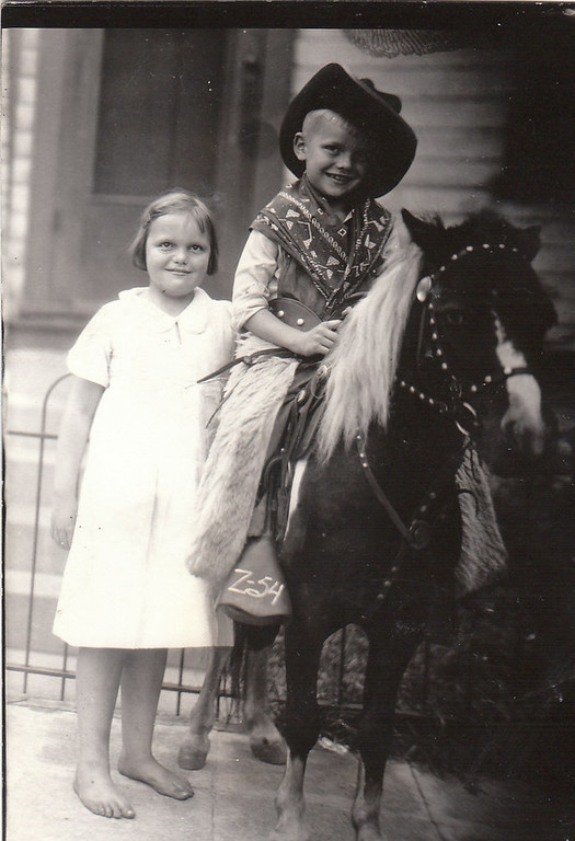 """. Continues NANCY B of Woodbury: \""""This photo is from several years later. I�m sure Mom would enjoy seeing one or both of these photos in the Bulletin Board on her 90th birthday. Happy Birthday, Mom!�"""