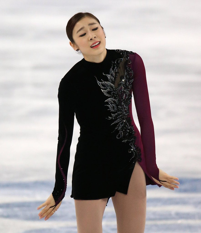. <p><b>19. YUNA KIM </b> <p>South Korean figure skating officials narrowly out-bribed by Russian figure skating officials. <p>  (Brian Cassella/Chicago Tribune/MCT)