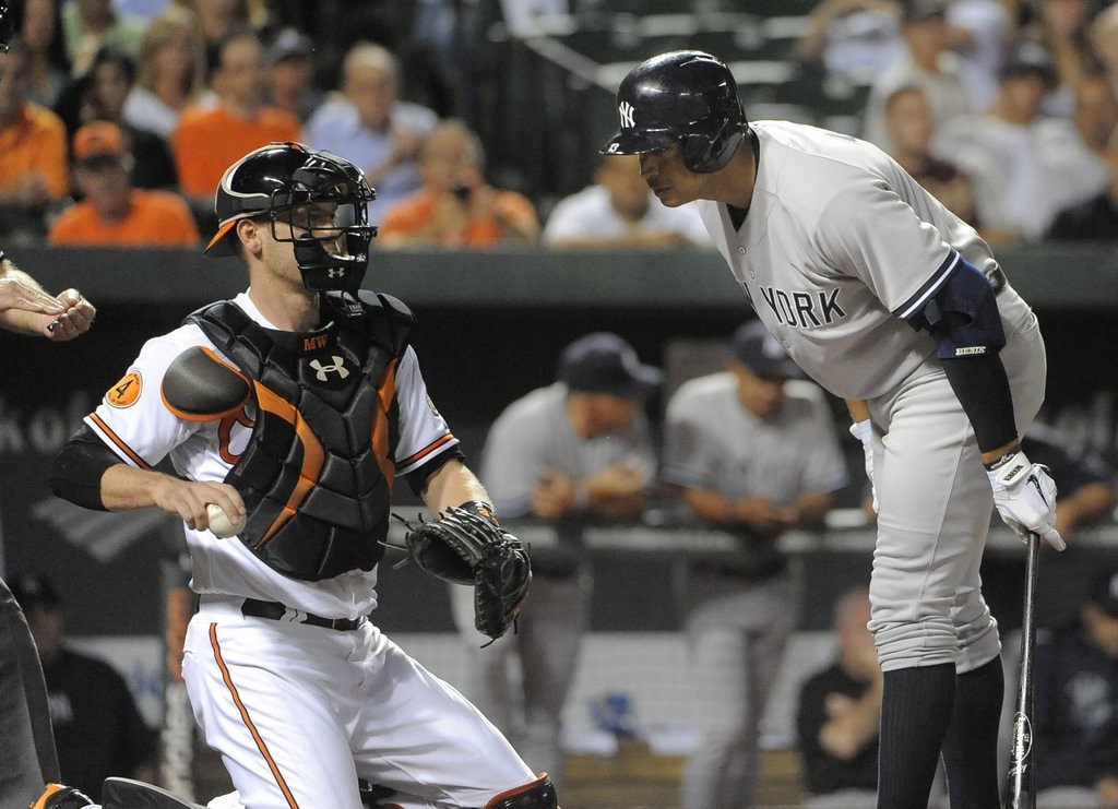""". <p>4. NEW YORK YANKEES <p>Paying $29 million in luxury taxes, and they�ve still got a stiff like Mark Reynolds batting sixth. (unranked) <p><b><a href=\'http://www.usatoday.com/story/sports/mlb/2013/09/10/yankees-luxury-tax-29-million-payroll/2794723/\' target=\""""_blank\""""> HUH?</a></b> <p>    (Lloyd Fox/Baltimore Sun/MCT)"""