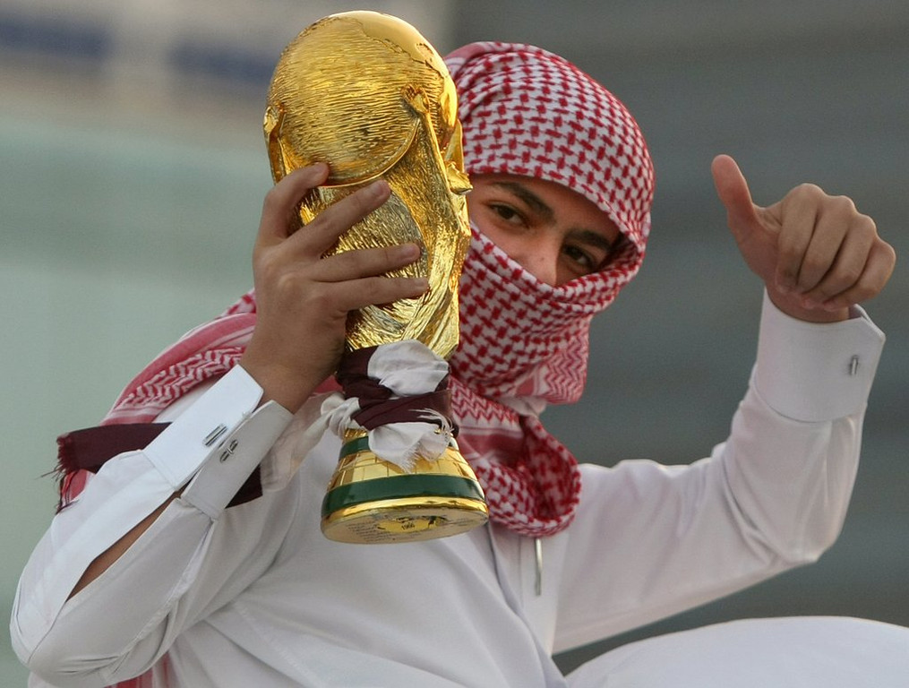 ". <p><b> Soccer officials are strongly considering moving the 2022 World Cup in Qatar to the winter because of the Persian Gulf country�s usual summer � </b> <p> A. Heat  <p> B. Sand storms  <p> C. Terrorist attacks  <p><b><a href=\'http://www.dailymail.co.uk/sport/football/article-2401761/Sepp-Blatter-expects-2022-Qatar-World-Cup-moved-summer.html\' target=""_blank\"">HUH?</a></b> <p>   (Marwan Naamani/AFP/Getty Images)"