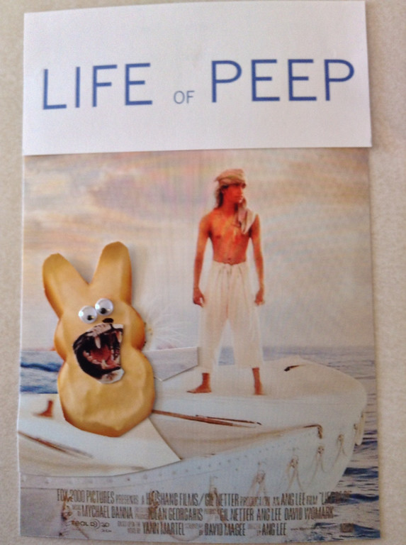 ". \""Life of Peep,\"" by Martha Sohn, Vadnais Heights"