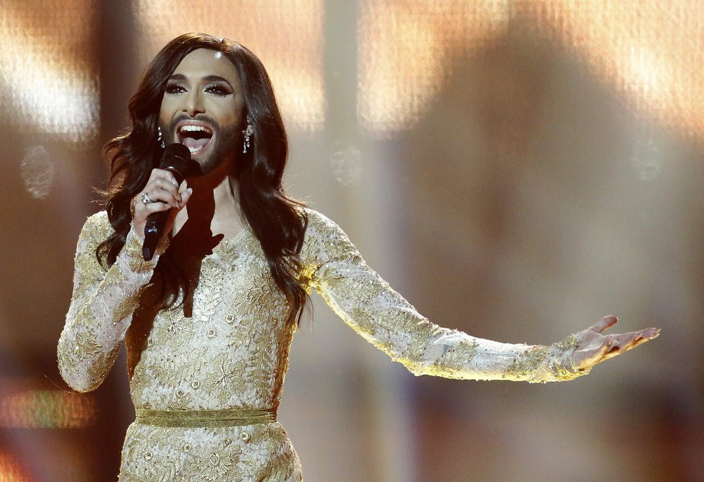 """. <p><b> Conchita Wurst made headlines over the weekend when the bearded drag queen was � </b> <p> A. Voted the winner of the Eurovision Song Contest <p> B. Deported from Russia <p> C. Drafted by the St. Louis Rams <p><b><a href=\'http://www.twincities.com/tvradio/ci_25738447/austrian-drag-queen-wins-eurovision-song-contest\' target=\""""_blank\"""">LINK</a></b> <p>   <br> <p><b>ANSWERS</b> <p> The correct answer is always \""""A\"""" ... unless you feel very strongly otherwise. <p> <br><p><i> You can follow Kevin Cusick at <a href=\'http://twitter.com/theloopnow\'>twitter.com/theloopnow</a>.</i>    (AP Photo/Frank Augstein)"""