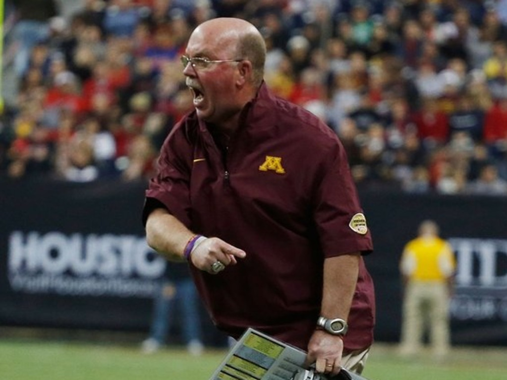 ". <p>2. JERRY KILL <p>Gophers coach has carefully determined that his seizure issues are none of your beeswax. (unranked) <p><b><a href=\'http://www.twincities.com/sports/ci_24105707/gophers-football-norwood-teague-backs-jerry-kill-100\' target=""_blank\""> HUH?</a></b> <p>     (Scott Halleran/Getty Images)"