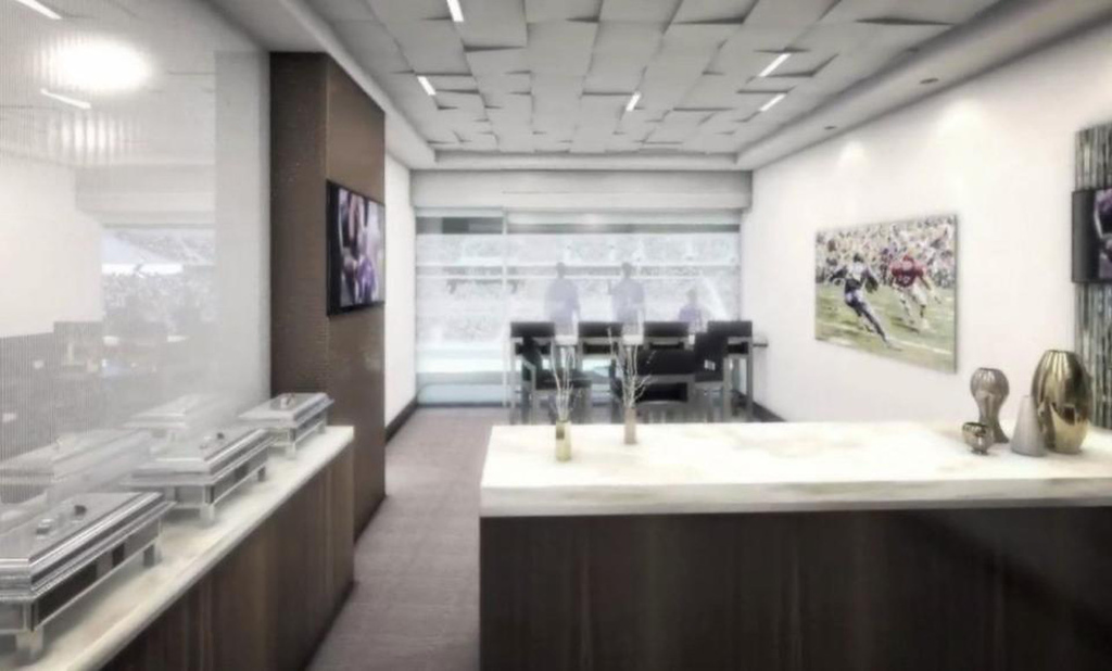. A rendering of a suite at the new Vikings stadium, released on Monday May 13, 2013. (Courtesy Minnesota Vikings)