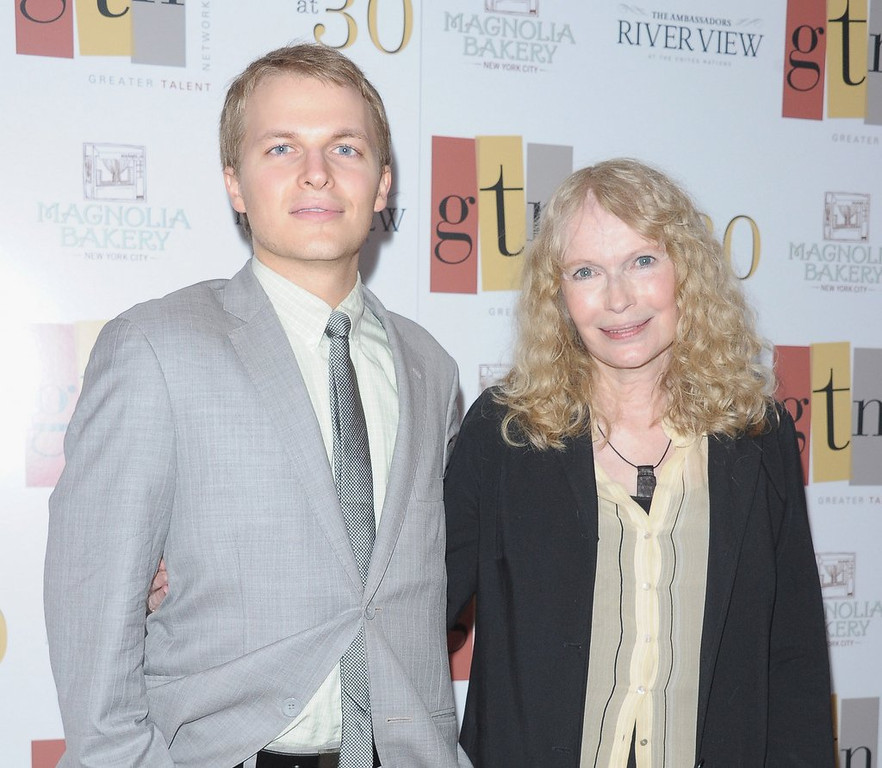 ". <p><b> MSNBC host Ronan Farrow has had no comment on published reports claiming that his � </b> <p> A. Blue eyes are the result of contact lenses  <p> B. Talk show is in danger of cancelation <p> C. Real father is Frank Sinatra Jr. <p><b><a href=\'http://pagesix.com/2014/04/30/ronan-farrows-sinatra-blue-eye-color-is-fake/\' target=""_blank\""> LINK </a></b> <p>    (Michael Loccisano/Getty Images)"