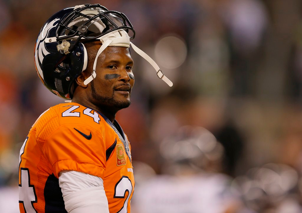 ". 9. CHAMP BAILEY <p>Went from All-World to All-Over, seemingly overnight. (unranked) </p><p><b><a href=""http://www.cbssports.com/nfl/eye-on-football/24688233/saints-cut-db-champ-bailey-could-mean-end-of-36-year-olds-career\"" target=\""_blank\""> LINK </a></b> </p><p>    (Kevin C. Cox/Getty Images)</p>"
