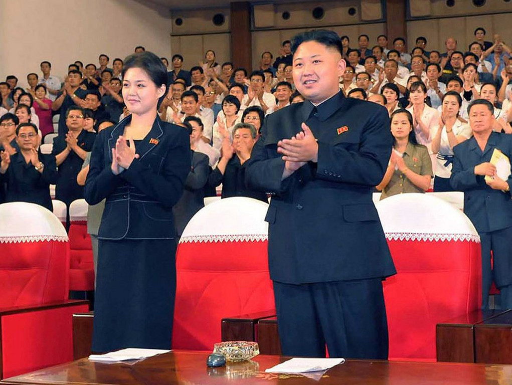 """. <p><b> North Korea�s brutal dictator, Kim Jong-Un, drew less-than-surprising 100 percent support in this vote last week � </b> <p> A. North Korea�s parliamentary election <p> B. Pyongyang�s Sexiest Man Alive contest <p> C. MSNBC staff�s 2016 presidential straw poll <p><b><a href=\' http://www.telegraph.co.uk/news/worldnews/asia/northkorea/10687009/Kim-Jong-un-secures-unsurprising-100-per-cent-victory-in-North-Korea-election.html\' target=\""""_blank\"""">HUH?</a></b> <p>    (KNS/AFP/Getty Images)"""