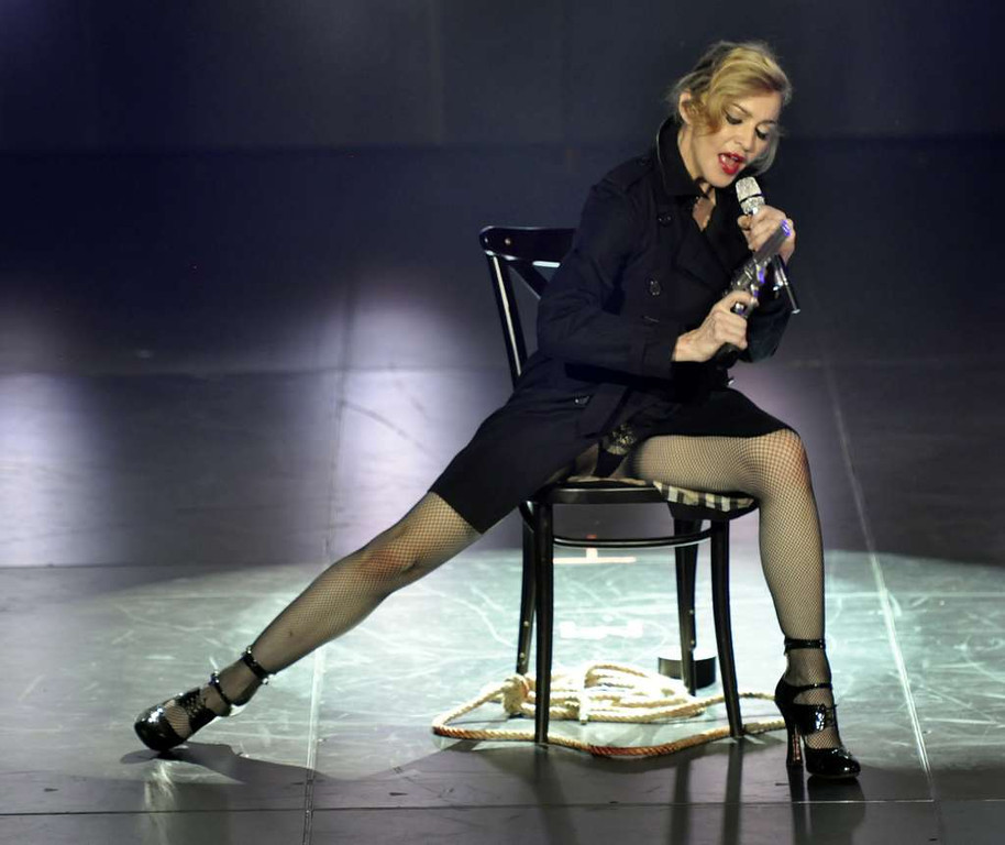 """. <p>7. MADONNA <p>What great mother DOESN�T call her children the N-word? (unranked) <p><b><a href=\'http://www.nydailynews.com/entertainment/gossip/madonna-calls-son-rocco-n-word-instagram-article-1.1583823\' target=\""""_blank\""""> HUH?</a></b> <p>    (AP Photo/Guy Oseary)"""