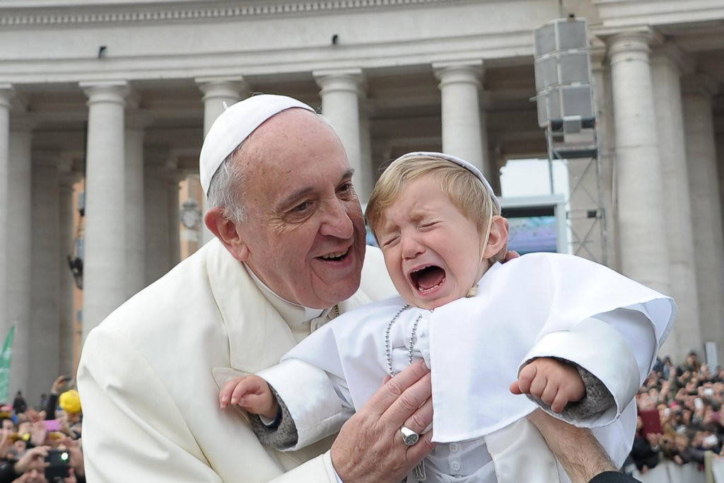 """. <p>5. POPE FRANCIS <p>The first pope to drop an F bomb since Pope Tarantino in 1469. (2) <p><b><a href=\'http://www.nydailynews.com/news/world/watch-pope-francis-accidentally-drops-f-bomb-article-1.1708732\' target=\""""_blank\""""> HUH?</a></b> <p>    (AP Photo/L\'Osservatore Romano, ho)"""