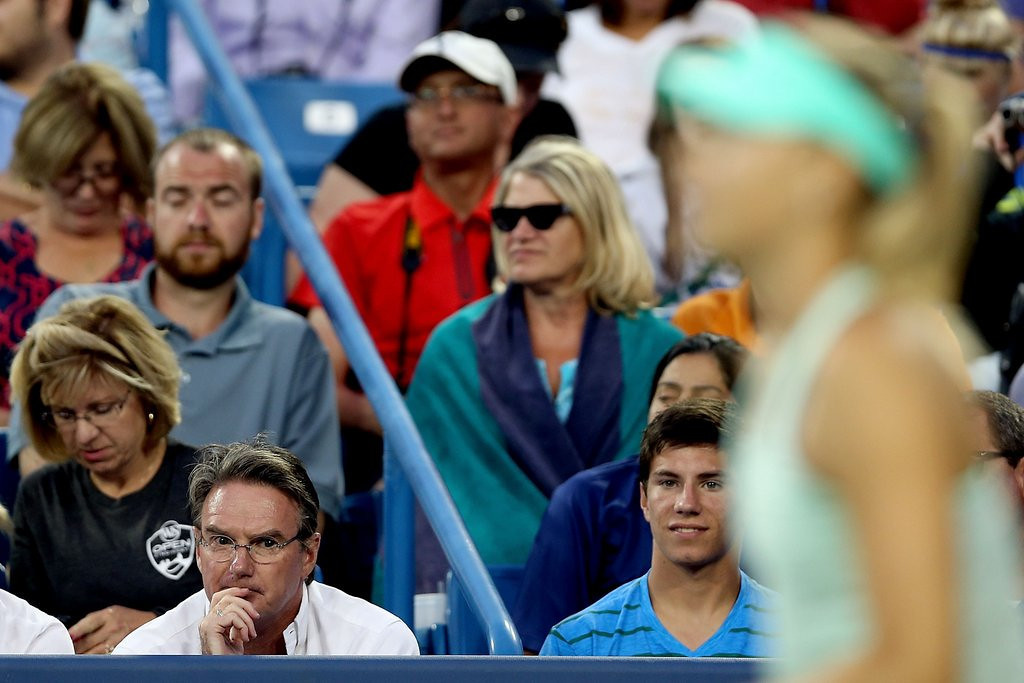 """. <p><b> Tennis champ Maria Sharapova caused a stir after she fired new coach Jimmy Connors after only one � </b> <p> A. Match  <p> B. Year  <p> C. Indecent proposal  <p><b><a href=\'http://www.tennisworldusa.org/Tennis---Maria-Sharapova-made-her-father-call-Connors-to-fire-him-articolo12242.html\' target=\""""_blank\"""">HUH?</a></b> <p>    (Matthew Stockman/Getty Images)"""