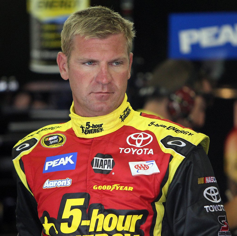 """. <p>8. CLINT BOWYER <p>NASCAR�s clueless poster boy for the gang that couldn�t drive straight. (unranked) <p><b><a href=\'http://www.twincities.com/sports/ci_24054913/sprint-cup-nascar-boots-truex-from-chase-newman\' target=\""""_blank\""""> HUH?</a></b> <p>    (AP Photo/Jim Cole, File)"""
