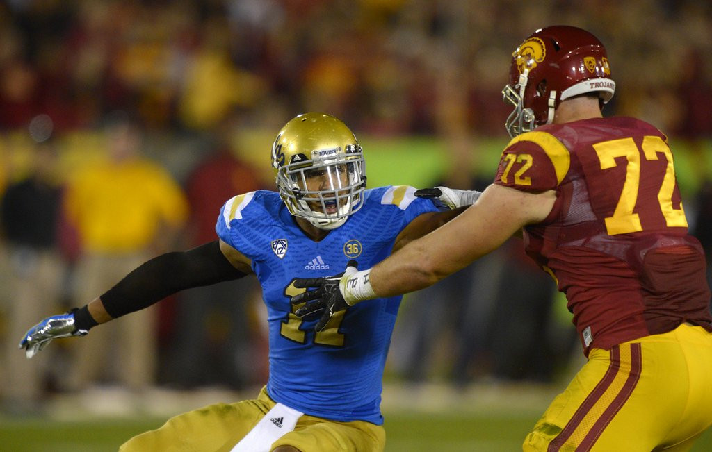 . <b>2. ANTHONY BARR </b> <p>You know Vikings made a BRILLIANT pick if the NFL didn�t even bother flying his butt out to the draft. <p>   (AP Photo/Mark J. Terrill)