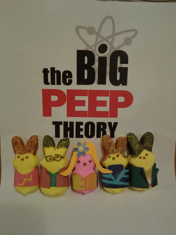 """. \""""The Big Peep Theory,\"""" Joanie Fleischer, Blaine"""