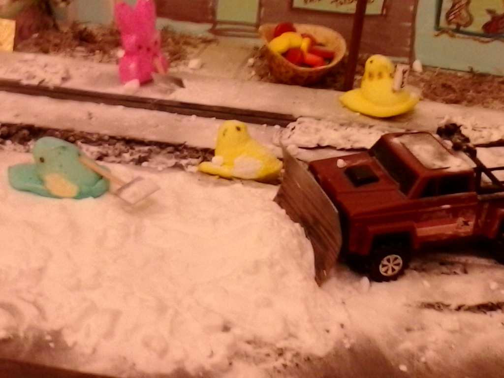 ". ""Peep Street Part 3: Snow removal on Peep Street East,\"" by Sage Holben"