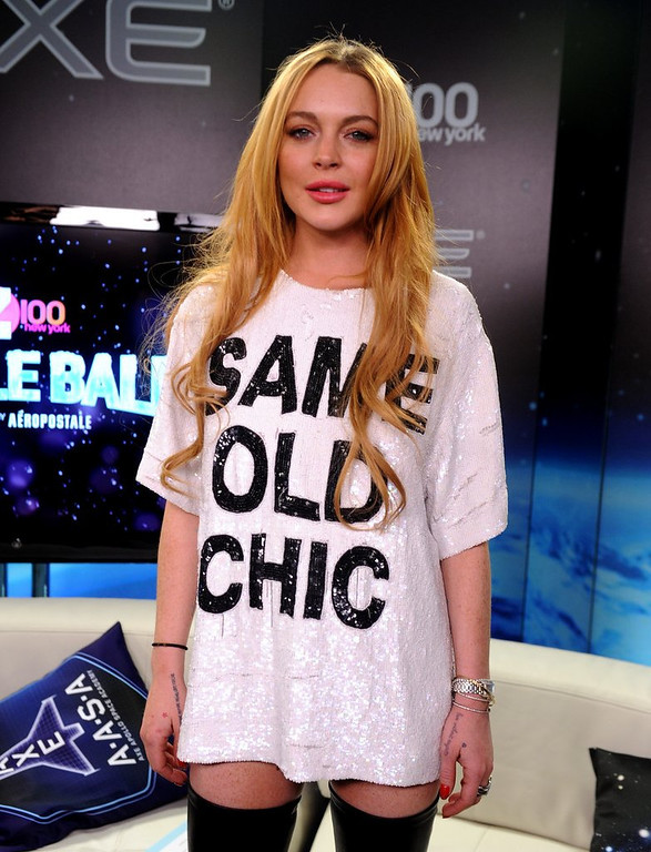 """. <p>10. (tie) LINDSAY LOHAN <p>Note to Oprah: Cavaet emptor. (unranked) <p><b><a href=\'http://www.foxnews.com/entertainment/2014/03/06/oprah-accused-exploiting-lindsay-lohan-in-post-rehab-reality-series/\' target=\""""_blank\""""> HUH?</a></b> <p>    (Brad Barket/Getty Images for Clear Channel)"""