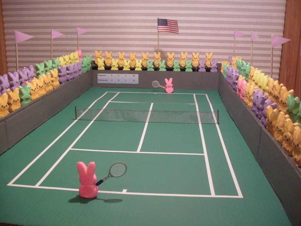 """. \""""2013 Peep Open Tennis Tournament,\"""" by Curtis Hause, Lake Elmo"""