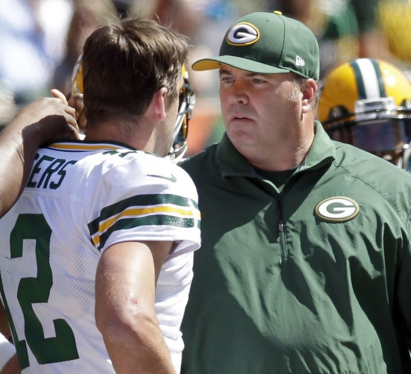 """. <p>2. AARON RODGERS & MIKE McCARTHY <p>Is there anyone left in Green Bay who hasn�t fought with the quarterback? (unranked) <p><b><a href=\'http://msn.foxsports.com/lacesout/aaron-rodgers-mike-mccarthy-spat/?utm_source=rss&utm_medium=rss&utm_campaign=aaron-rodgers-mike-mccarthy-spat\' target=\""""_blank\""""> HUH?</a></b> <p>    (Mark Hoffman/Milwaukee Journal Sentinel/MCT)"""