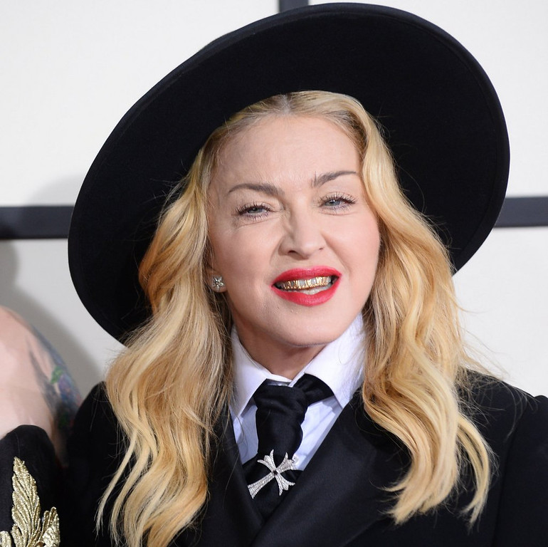 """. <p>10. (tie) MADONNA <p>Really started going to hell after she turned 70. (previous ranking: unranked) <p><b><a href=\' http://metro.co.uk/2014/01/27/madonna-compared-to-slipknot-clown-as-she-wears-identical-outfit-to-son-david-at-the-grammy-awards-4278903/\' target=\""""_blank\""""> HUH?</a></b> <p>  (Jordan Strauss/Invision/AP)"""
