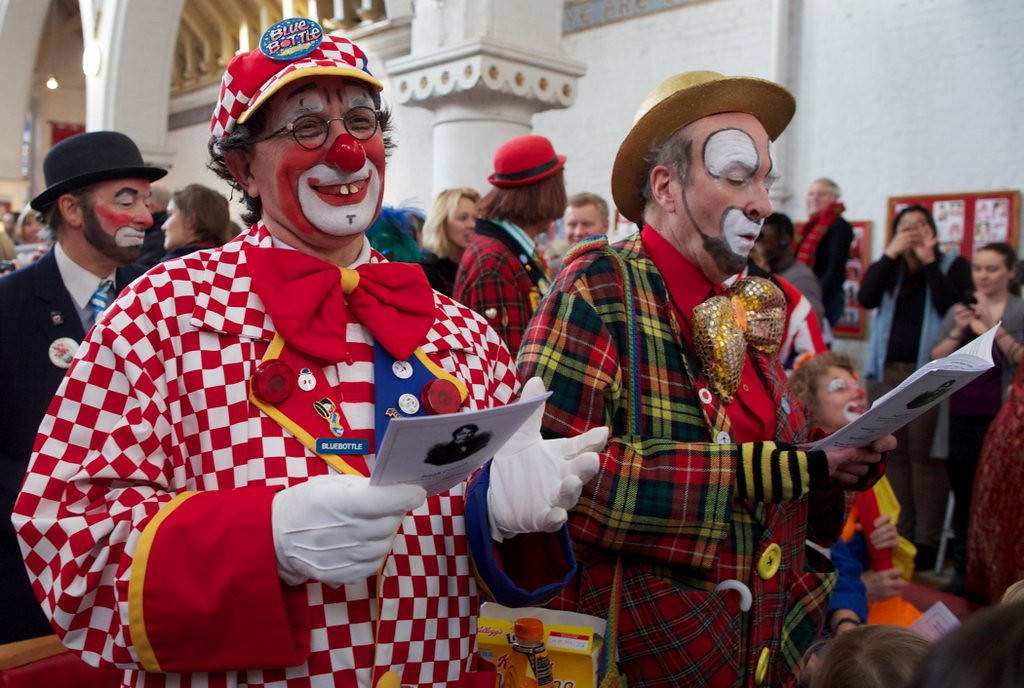 ". <p>8. CLOWNS <p>Why is there a shortage? That�s a clown question, bro. (6) <p><b><a href=\'http://www.usatoday.com/story/life/people/2014/02/19/clown-shortage-threatening-the-nation/5606861/\' target=""_blank\""> HUH?</a></b> <p>    (Andrew Cowie/AFP/Getty Images)"