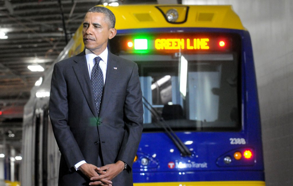 ". <p>3. BARACK OBAMA <p>No doubt blaming Wednesday�s Green Line derailment on Republican roadblocks. (1) <p><b><a href=\'http://www.twincities.com/localnews/ci_25234278/central-corridor-train-derails-downtown-st-paul\' target=""_blank\""> HUH?</a></b> <p>     (Pioneer Press: John Doman)"