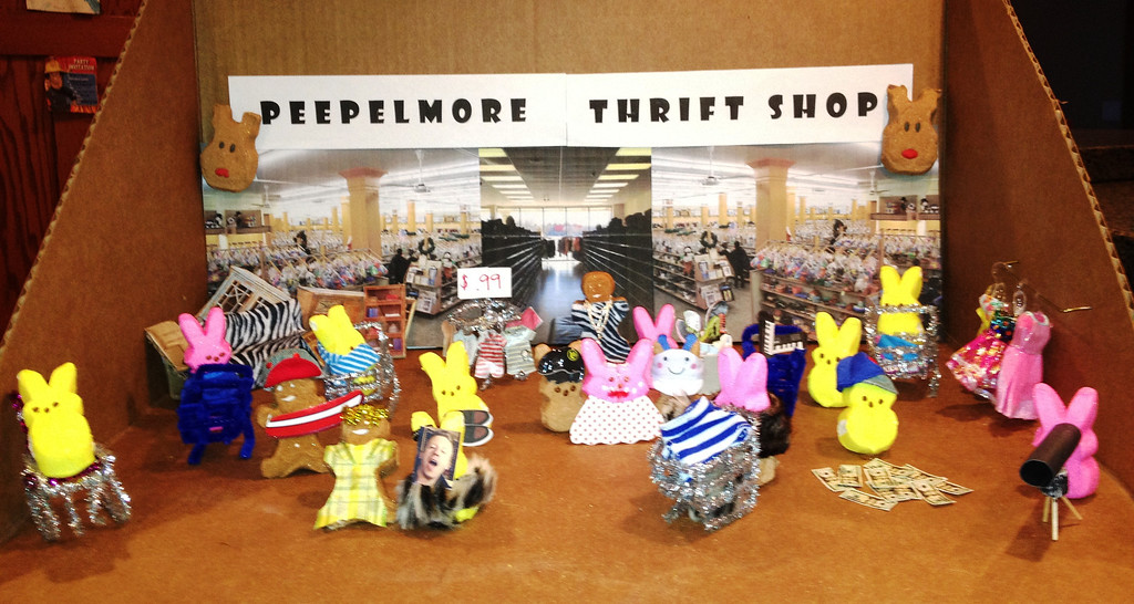 """. \""""Peepelmore Thrift Shop,\"""" by Fritz Johnson"""