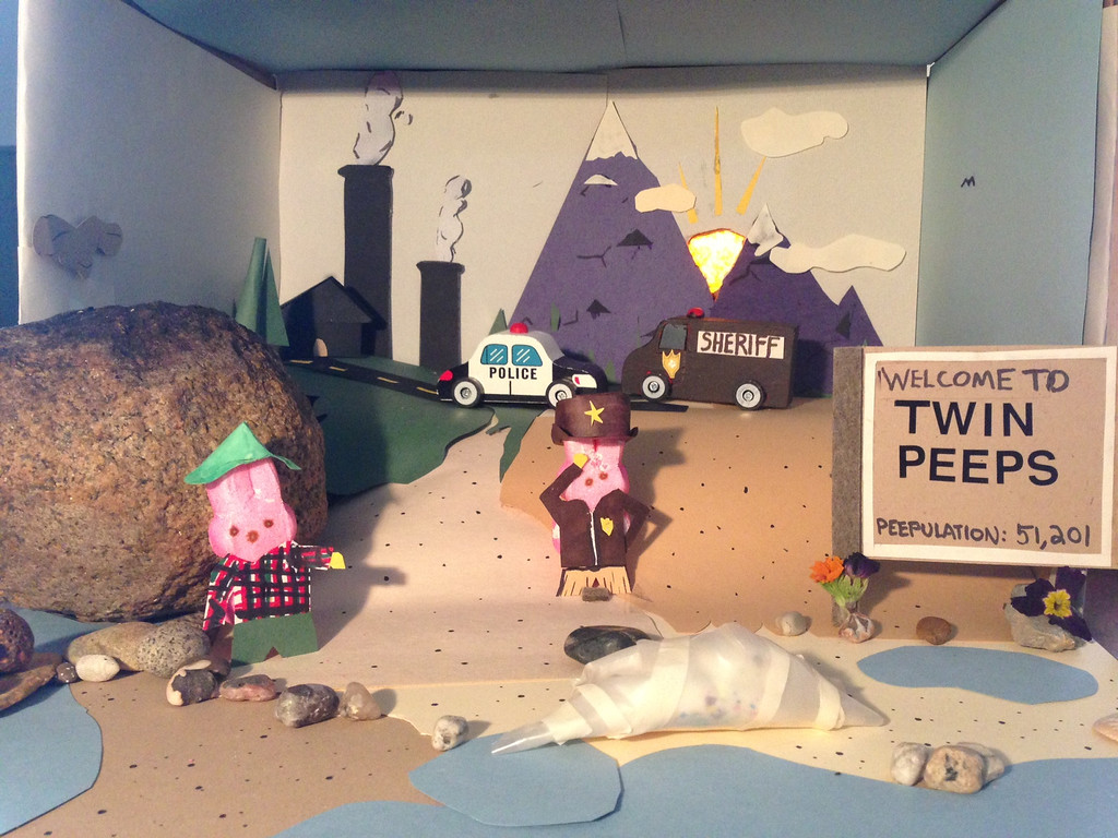 ". \""Twin Peeps,\"" by Paul Barnum, Minneapolis"