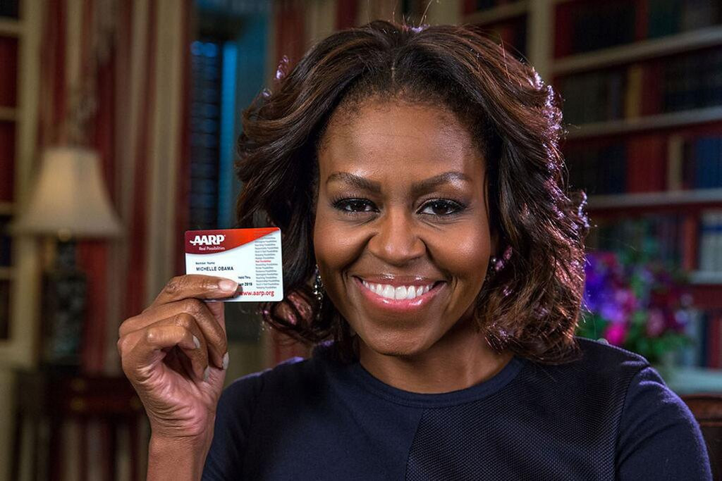""". <p>4. (tie) MICHELLE OBAMA <p>Thankfully, only a few weeks left in her 50th birthday festivities. (unranked) <p><b><a href=\'http://www.dailymail.co.uk/news/article-2535894/Roadblocks-causing-havoc-Hawaii-security-teams-prepare-Michelle-Obamas-50th-birthday-party-Oprahs-Maui-mansion.html\' target=\""""_blank\""""> HUH?</a></b> <p>     (PRNewsFoto/AARP, White House)"""