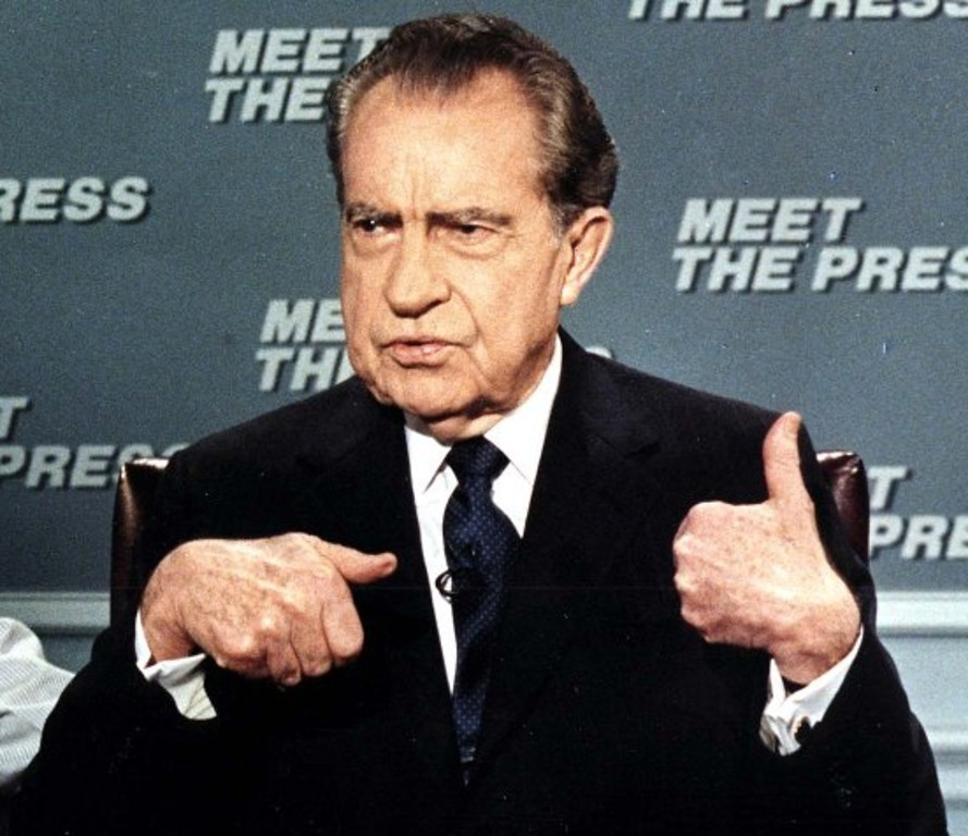 ". <p>2. (tie) RICHARD NIXON <p>Thanks to juicy new Watergate tapes, we still have Nixon to kick around some more. (unranked) <p><b><a href=\'http://abcnews.go.com/Politics/wireStory/nixon-tapes-released-cover-key-period-20020044\' target=""_blank\""> HUH?</a></b> <p>    (Jerome Delay/AFP/Getty Images)"