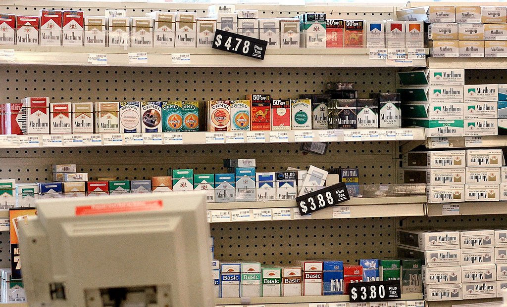 """. <p>5. (tie) TOBACCO <p>With CVS going cold turkey, smokers left with only a billion places to buy smokes. (unranked) <p><b><a href=\'http://www.twincities.com/business/ci_25066240/cvs-caremark-plans-stop-selling-tobacco-products\' target=\""""_blank\""""> HUH?</a></b> <p>    (Olivier Douliery/Abaca Press/MCT)"""