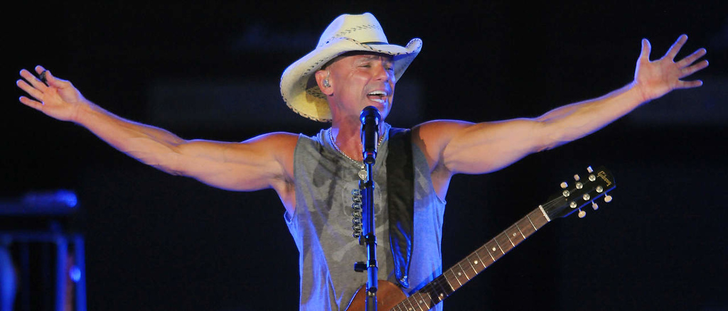 . Kenney Chesney performs. (Pioneer Press: John Autey)