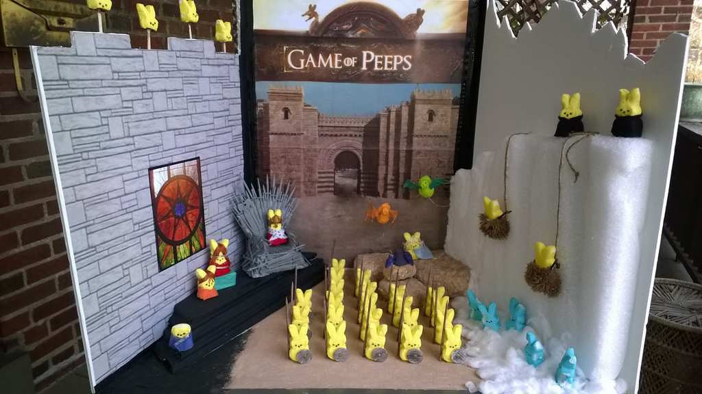 ". ""Game of Peeps,\"" by Berkeley Collins"