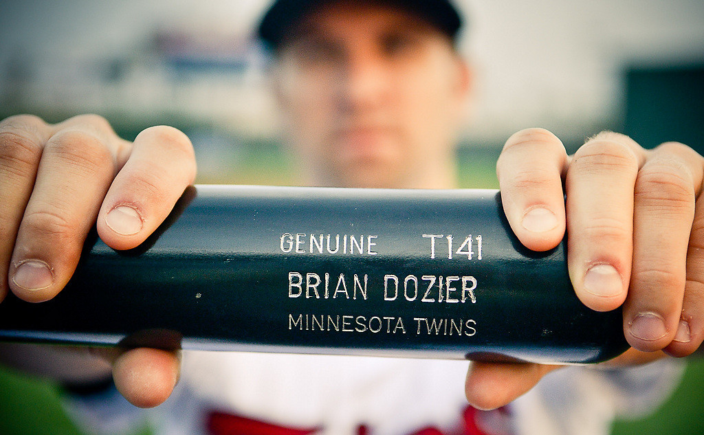 . Second Baseman  Brian Dozier. (Pioneer Press: Ben Garvin)