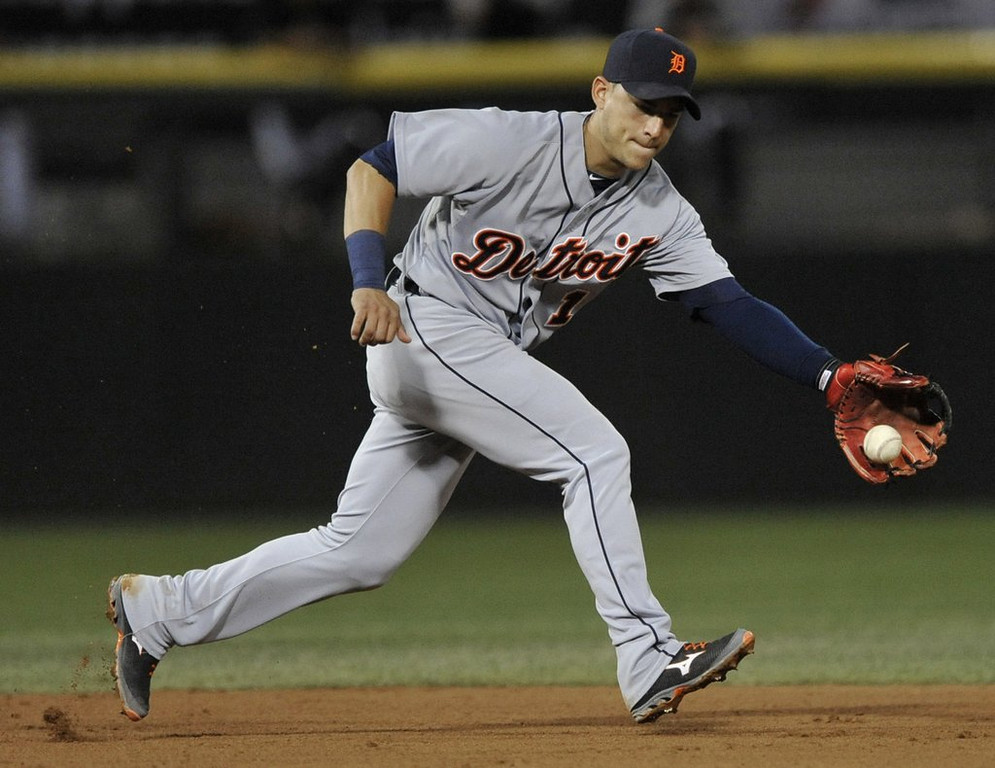 """. <p>8. JOSE IGLESIAS <p>We�re not a doctor, but if you have stress fractures in both legs, you�ve probably got too much stress. (unranked) <p><b><a href=\'http://www.twincities.com/sports/ci_25360730/jose-iglesias-detroit-shortstop-has-stress-fractures-both\' target=\""""_blank\""""> HUH?</a></b> <p>    (AP Photo/Paul Beaty, File)"""