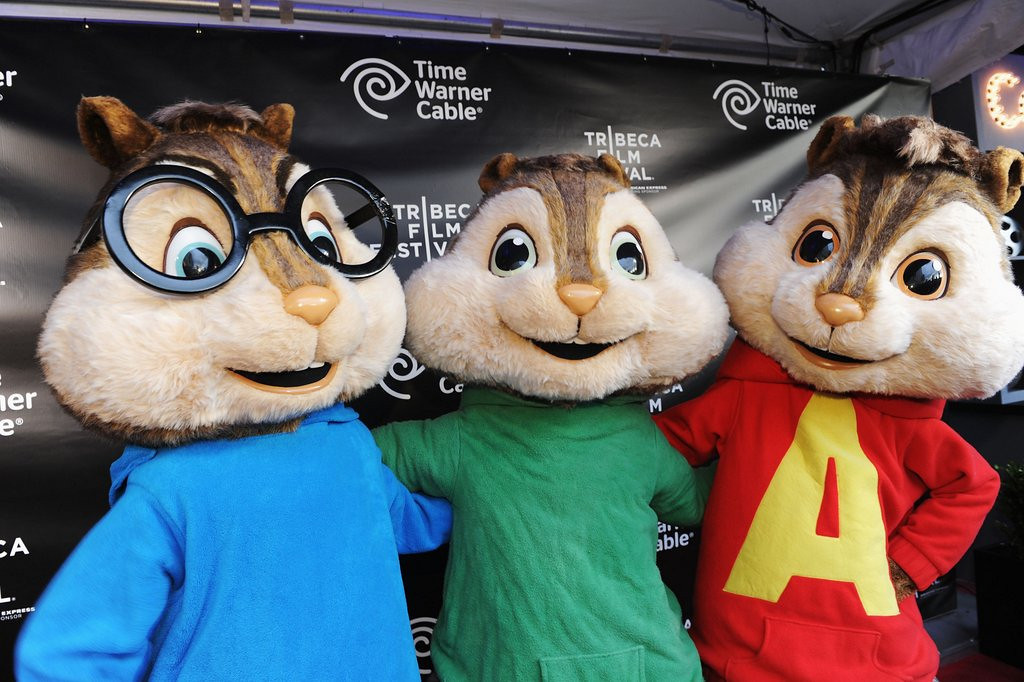 . <p>7. CHIPMUNKS <p>Really not very good singers, despite all the Hollywood propaganda you�ve been led to believe.   (Craig Barritt/Getty Images)