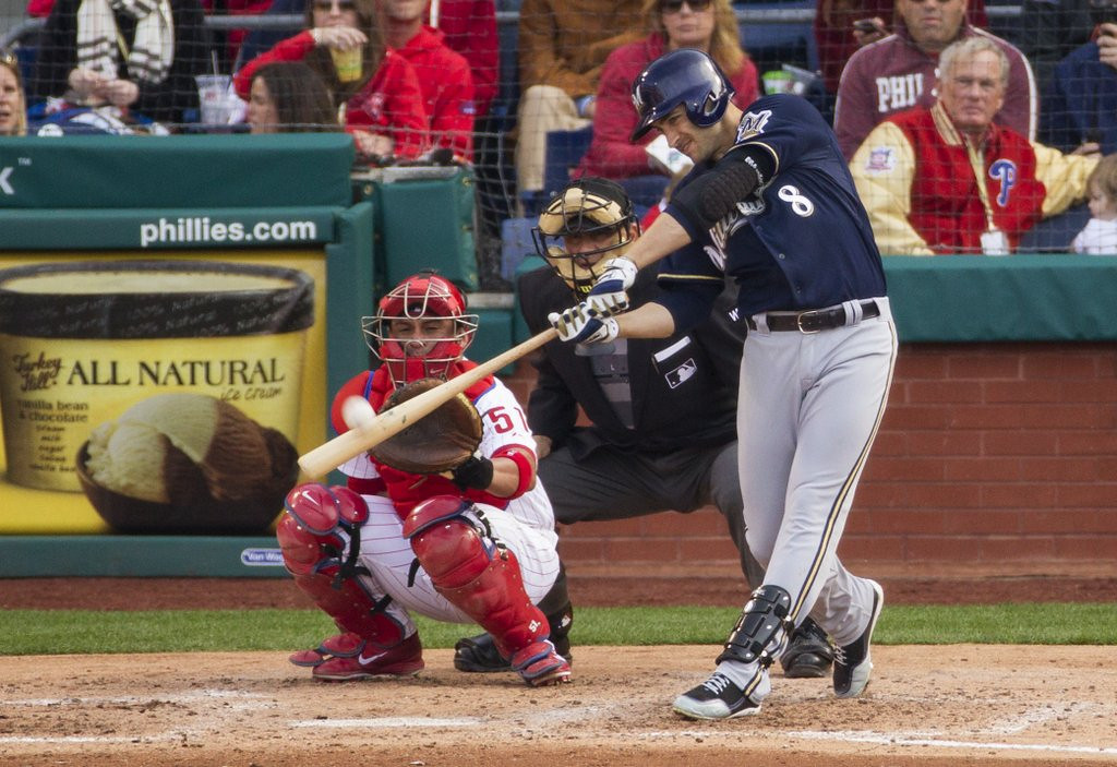 ". <p>1. RYAN BRAUN <p>Three-homer day sparks immediate call for mid-game drug testing. (unranked) <p><b><a href=\'http://www.jsonline.com/sports/brewers/ryan-braun-belts-three-home-runs-as-brewers-top-phillies-b99243174z1-254454191.html\' target=""_blank\""> HUH?</a></b> <p>   <p>OTHERS RECEIVING VOTES <p> Archie, Evan Reed, ebola, Joe Dumars, Windows XP, Omar Infante�s face, Minnesota Twins, Wisconsin, Oscar Pistorius, Mickey Rooney, LeBron James, Gwyneth Paltrow & Chris Martin, Wrestlemania 30, KISS, Golf Digest, George W. Bush, Demi Lovato, Marlene Stollings, Jeb Bush, Barbara Walters, Indiana Pacers, falling drones, HBO Go, Tom Sermanni, , AirAsia. <p> <br><p><i> You can follow Kevin Cusick at <a href=\'http://twitter.com/theloopnow\'>twitter.com/theloopnow</a>.</i>    (AP Photo/Chris Szagola)"