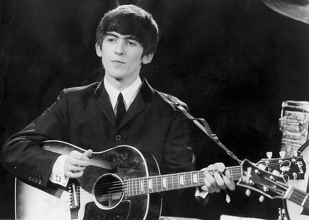 """. <p><b> Fans of the late George Harrison were shocked and saddened to learn that a memorial tree planted in his honor had been killed by � </b> </p><p> A. Beetles </p><p> B. Beatles </p><p> C. Aaron Hernandez </p><p><b><a href=\""""http://www.nbcnews.com/news/us-news/george-harrison-memorial-tree-overrun-killed-beetles-n161876\"""" target=\""""_blank\"""">LINK</a></b> </p><p>   (Getty Images file photo)</p>"""