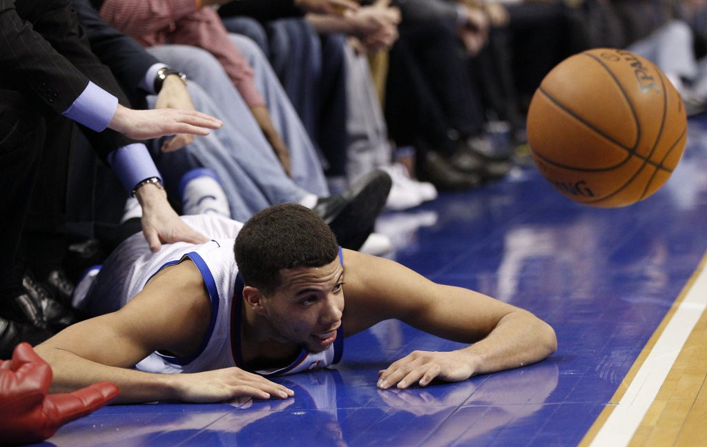 ". <p>9. PHILADELPHIA 76ERS <p>Losing just about every night ... just like they planned it. (unranked) <p><b><a href=\'http://www.foxnews.com/sports/2014/03/03/14-straight-and-counting-76ers-losing-streak-has-them-freefalling-toward-nba/\' target=""_blank\""> HUH?</a></b> <p>    (AP Photo/Chris Szagola)"