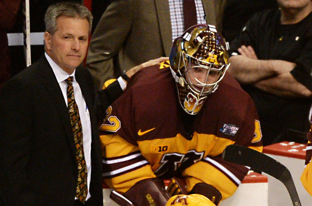 """. <p>10. (tie) MINNESOTA GOPHERS <p>Hockey team brought no shame on the state, unlike some of their fellow students. (previous ranking: unranked) <p><b><a href=\'http://www.twincities.com/sports/ci_25555592/ncaa-hockey-union-storms-gophers-7-4-frozen?source=most_viewed\' target=\""""_blank\""""> HUH?</a></b> <p>    (Pioneer Press: John Autey)"""