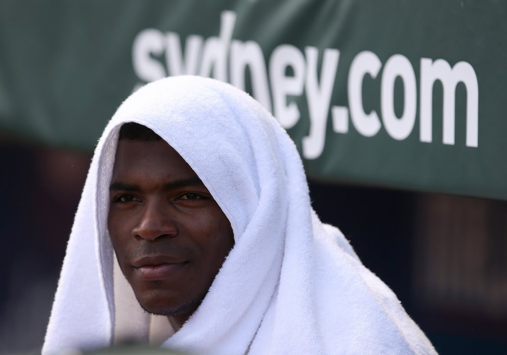 ". <p>10. (tie) YASIEL PUIG <p>Could make it to the All-Star Game this year, if his teammates don�t strangle him first. (previous ranking: unranked) <p><b><a href=\'http://insider.espn.go.com/blog/buster-olney/post?id=5494\' target=""_blank\""> HUH?</a></b> <p>   (AP Photo/Rick Rycroft)"