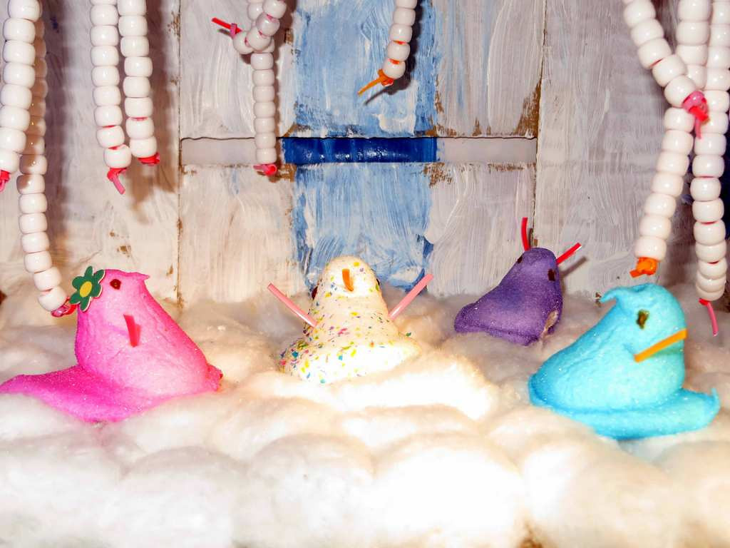 ". ""Frozen Peeps,\"" by Tabitha Johnson, 8, of Oakdale"