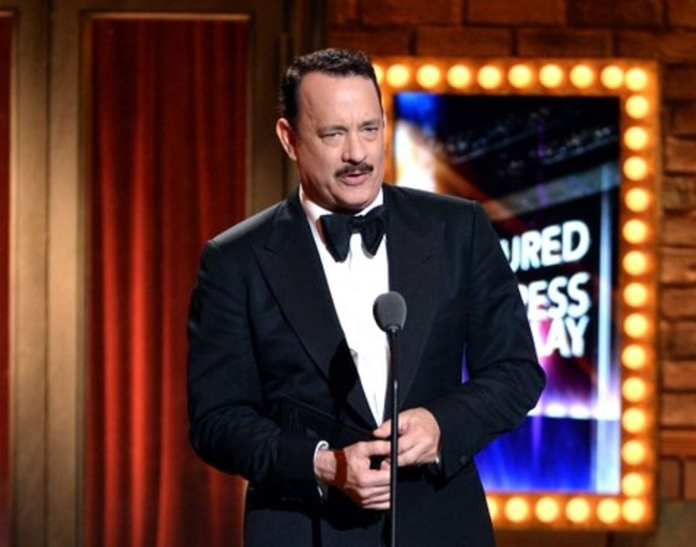 """. <p>10. (tie) TOM HANKS <p>The world�s most conspicuous juror? Guilty as charged. (previous ranking: unranked) <p><b><a href=\'http://www.cnn.com/2013/09/11/showbiz/tom-hanks-jury-case-ends-abruptly/?hpt=en_c2\' target=\""""_blank\""""> HUH?</a></b> <p>    (Andrew H. Walker/Getty Images for Tony Awards Productions)"""